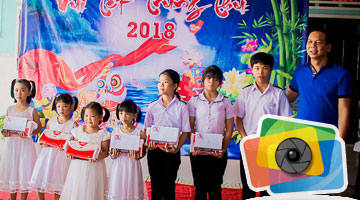 Happy Mid-Autumn Festival 2018 at Phu Hoa's orphanage