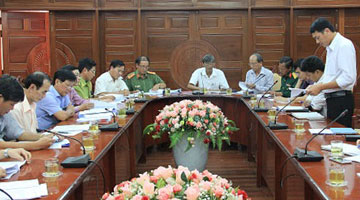 Thien Tan Group reported investing projects to the Permanent People's Committee of Quang Ngai