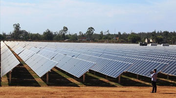 First solar power plant debuts in Quảng Ngãi
