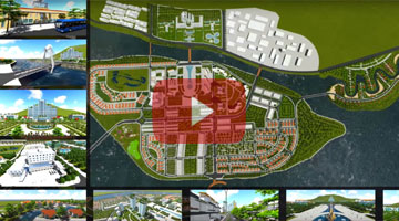3D Video: Thien Tan new urban